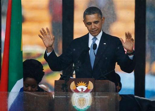 Mandela memorial service