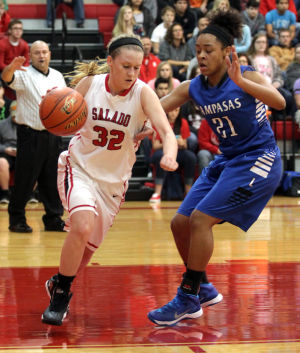 Salado vs Lampasas Girls