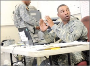 'Mayor' busy at Fort Irwin