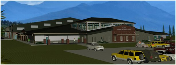 Training Aids Center rendering
