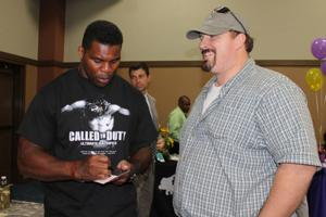 Herschel Walker at Fort Hood