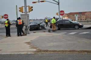 Thursday vehicle accident