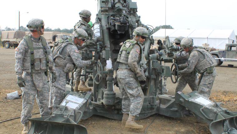 Howitzer training