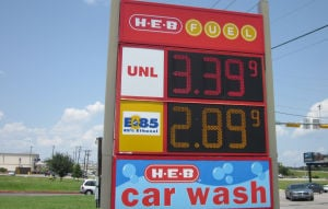Area gas prices on the decline
