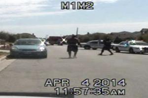 Screen Shot of Police Shooting