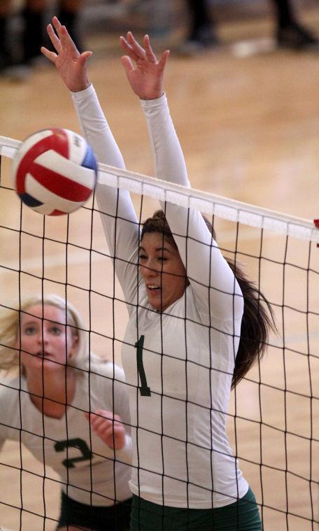 Ellison vs Gatesville Volleyball