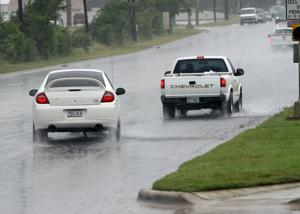 Heavy rains sweep through Central Texas