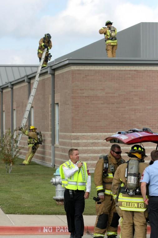 Trimmier Elementary Fire Scare