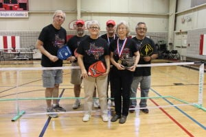 Pickleballers medal at Texas senior games