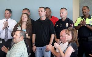 Killeen Police Department ceremony