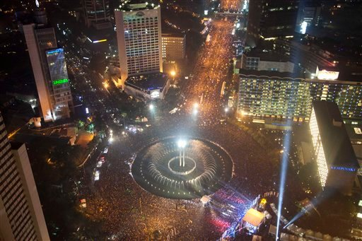 New Year's in Indonesia