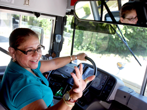 Ready to roll: Bus driver set for start of school year