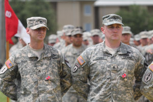 1st Cavalry Division Ceremony