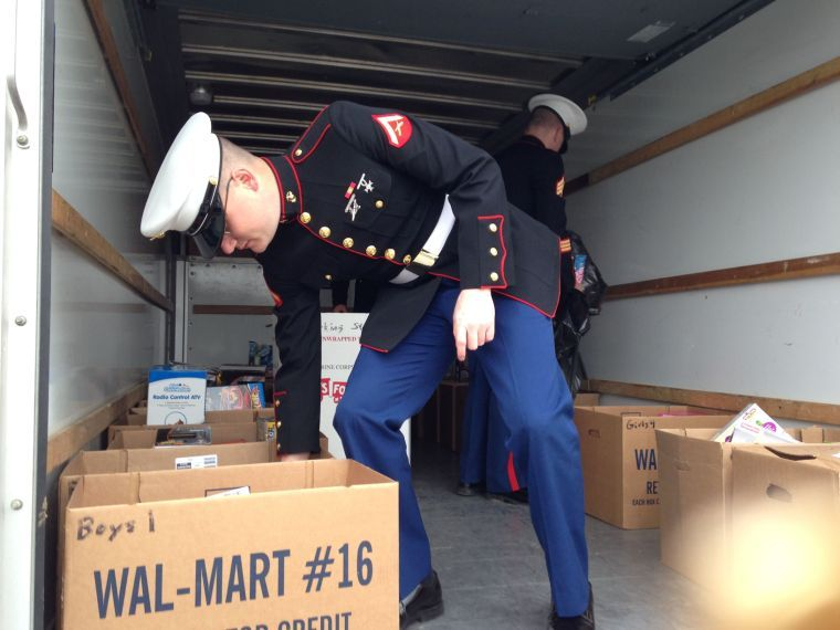 Marines, Toys for Tots grant Christmas wishes