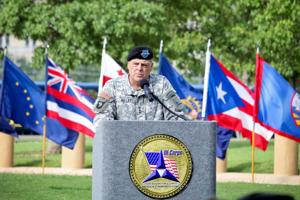 Lt. Gen. Mark Milley speaks