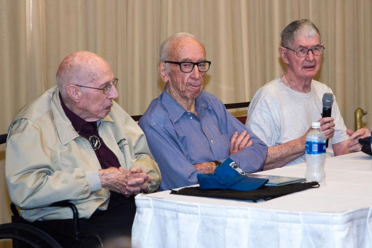 Panel of WWII Vets