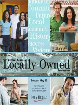 The Killeen Daily Herald's 2014 Locally Owned Businesses Publication.