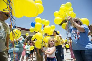 Hundreds celebrate the life of 5-year-old cancer victim