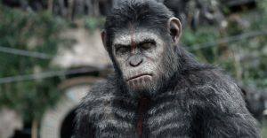 <p>Caesar (Andy Serkis) ponders his next move as he faces a threat posed by a colony of humans. (Twentieth Century Fox/MCT)</p>
