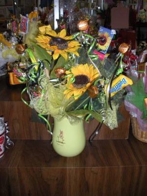 <p>Candy bouquets are available at Michele's Floral & Gifts at 821 E. U.S. Highway 190 in Copperas Cove.</p>
