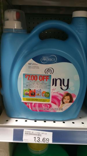 Price Matching at its Finest!!! 68% off for 170 fl oz Downy from the PX!!