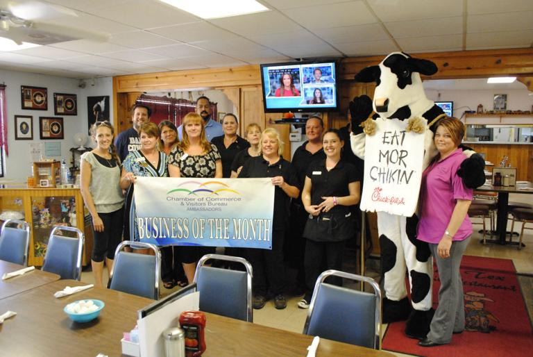 Chamber ambassadors name Lil' Tex Restaurant August business of month
