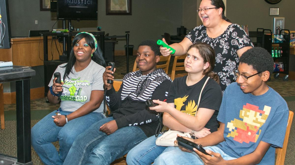 Heights library hosts Teen Game Night to wrap up Spring Break
