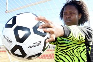 Shoemaker keeper tackles adversities