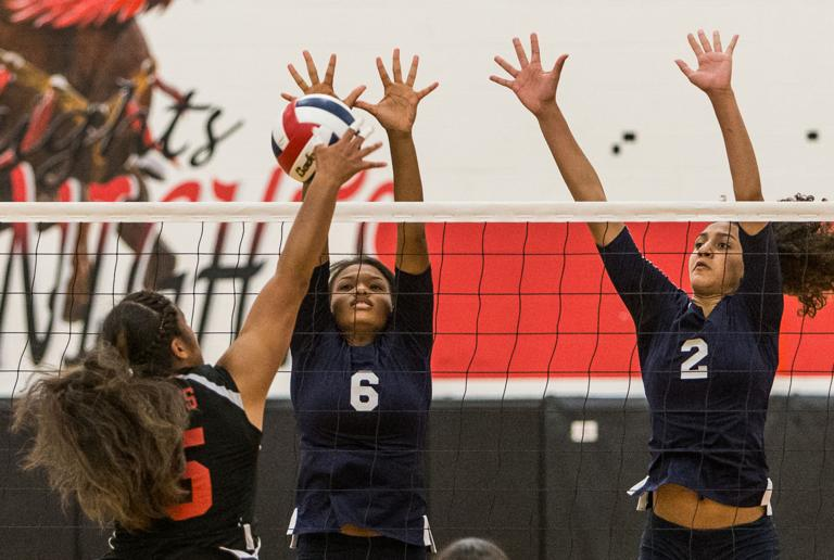 VOLLEYBALL: Lady Wolves sharp all-around in sweep of Heights