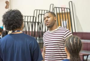 David Cobb visits Memorial Christian Academy
