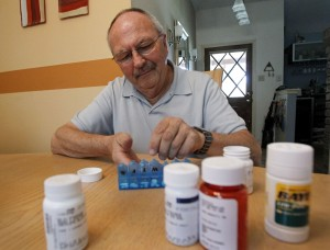Organizing medications