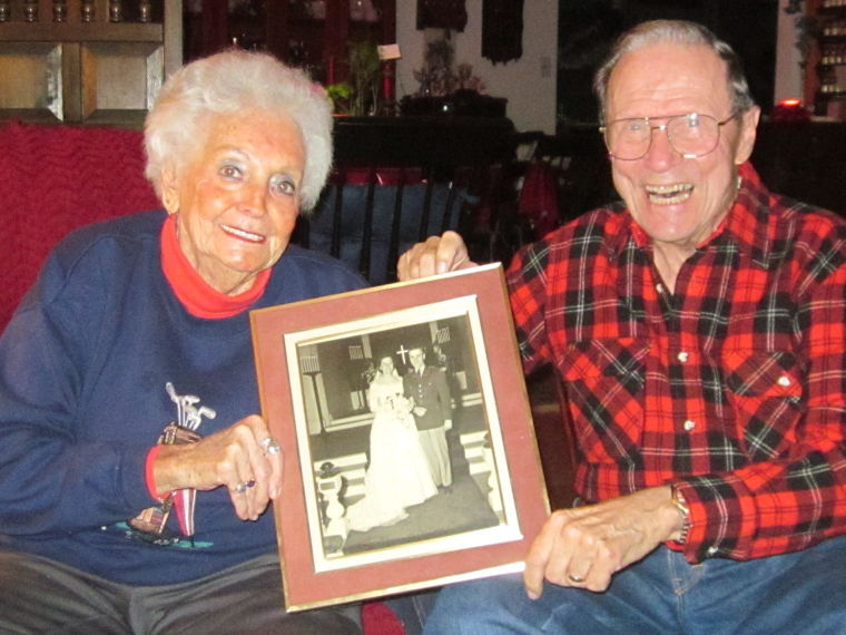 Married for more than 61 years