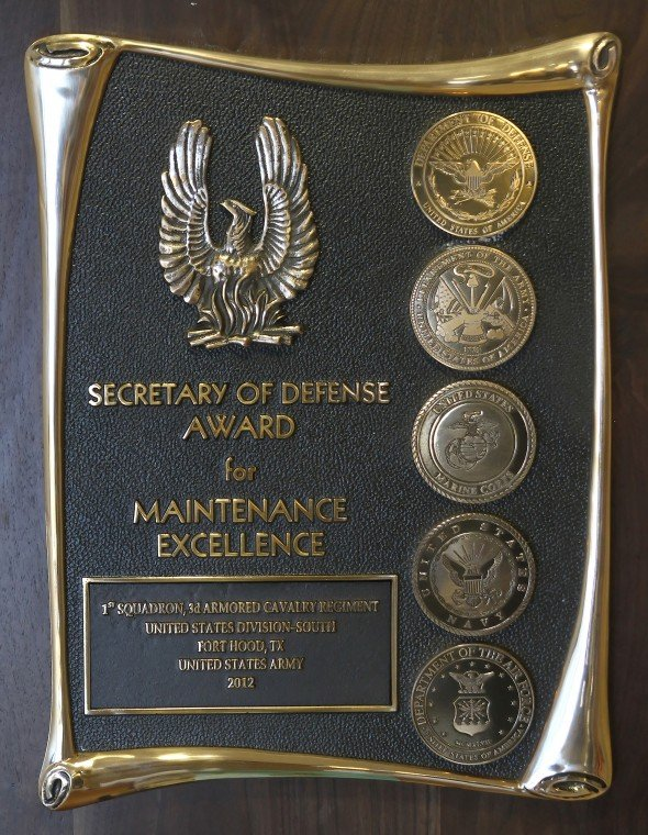 Tiger Squadron Wins Maintenance Award