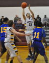 No. 3 Oakwood pulls away to end No. 23 Lometa's season