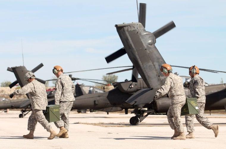 1st Air Cavalry Brigade Apache Gunnery