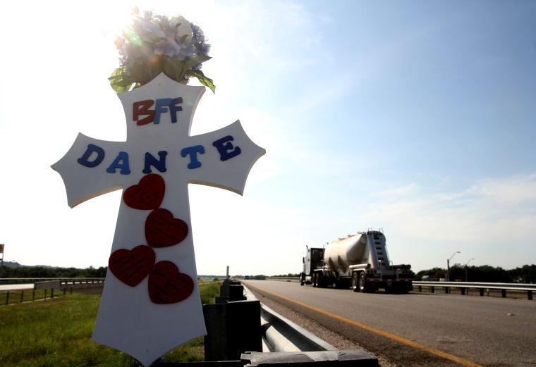 Dante Fair memorial cross