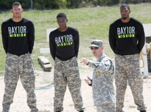 Baylor Men's Basketball Visit Fort Hood