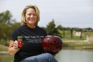 """<p>Nolanville entrepreneur Melissa Elms will once again make an appearance on national television tonight. Elms, CEO and co-owner of RAES Foods Inc., will be seen on an episode of """"Shark Tank"""" at 8 p.m. on CNBC to showcase her product, Bee Free Honee.</p>"""