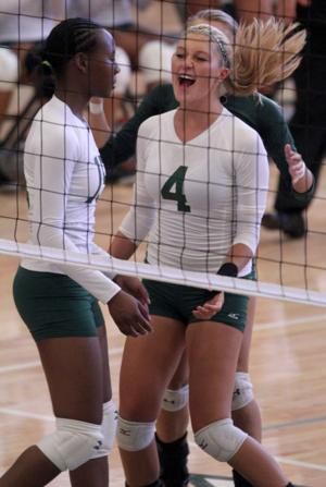 Ellison vs Gatesville Volleyball