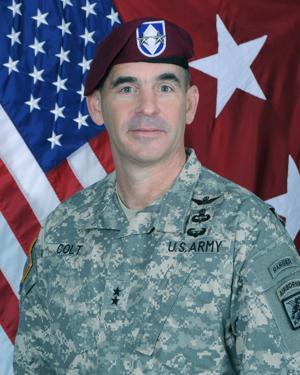 Maj. Gen. Jeffrey N. Colt