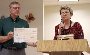 Check Presented to Lions Club Senior Center