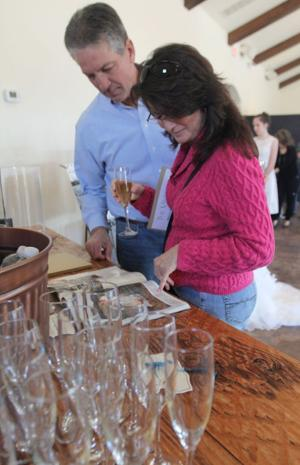 Vineyard at Florence Bridal Show