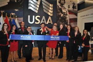 USAA ribbon-cutting