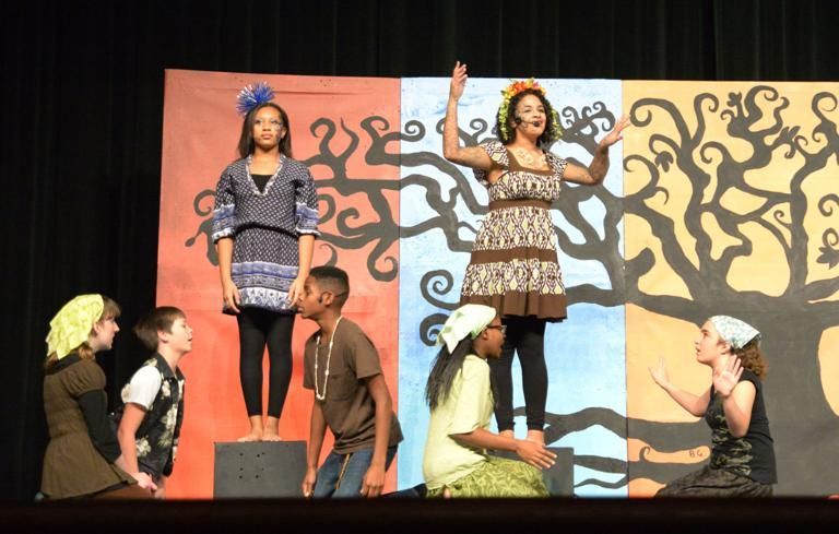 S.C. Lee students' hard work pays off in 'Once on This Island Jr.' play