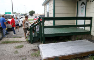 Garden beds at the Soup Kitchen