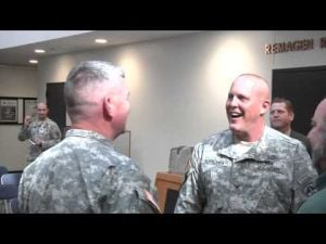 Col. Karcher discusses his Army career