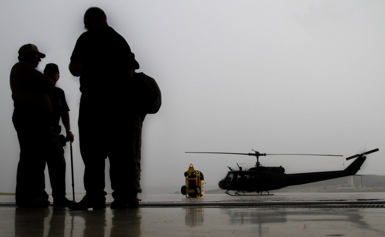UH-1 Iroquois Huey Helicopter Retirement Airlift