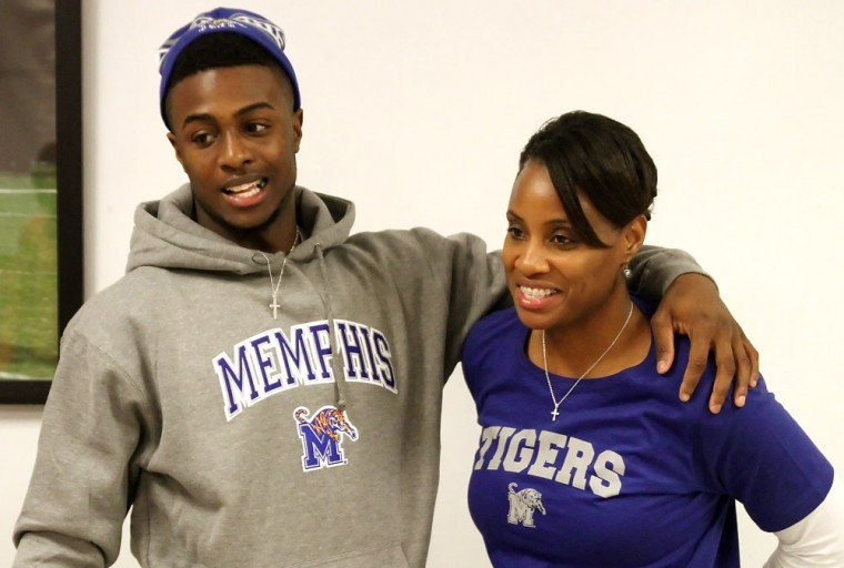 Belton's Henderson signs with Memphis