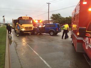 School bus-SUV crash in Killeen injures student, aide