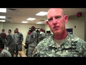 Fort Hood Troops leaving to Korea